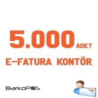 5.000 ADET E-FATURA KONTÖR