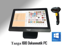 "TAZGA 1610BW /J1900/4GB/120GB SSD/15.6"" /B.OKUYUCU/WİNDOWS10"