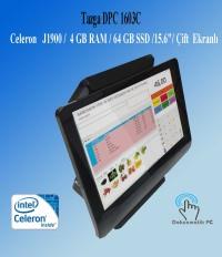 """TAZGA DPC 1603C  J1900 / 4 GB RAM / 64 GB SSD /15.6""""/2. EKRANLI"""