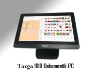 "TAZGA DPC - 1610 / İNTEL J1900/4GB/120GB SSD/15.6"" POS PC"