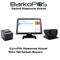 BARKOPOS PLUS OTOMASYON PAKETİ (DOKUNMATİK PC,PROGRAM, MASA OKUYUCU VE YAZICI)