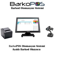 BARKOPOS PLUS OTOMASYON PAKETİ (DOKUNMATİK PC,PROGRAM, OKUYUCU VE YAZICI)
