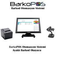 BARKOPOS PLUS OTOMASYON PAKETİ (DOKUNMATİK PC,PROGRAM, OKUYUCU VE YAZICI)