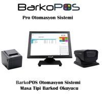 BarkoPOS Pro Otomasyon Paketi (Dokunmatik Pc, Program, Okuyucu ve Yazıcı)