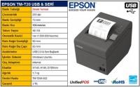 EPSON TM-T20II USB TERMAL YAZICI TM-T20II-002 FİŞ YAZICI