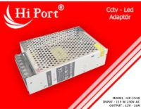 Hİ PORT 12V 10 AMPER METAL LED ADAPTÖR HP-1510