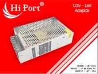 Hİ PORT 12V 30 AMPER METAL LED ADAPTÖR HP-1530
