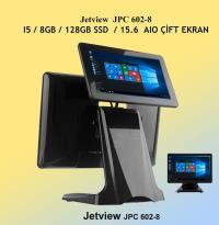 """JETVIEW JPC 602-8  I5 /8GB /128GB SSD/ÇİFT EKRAN (15.6""""/14"""")"""