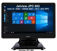"""JETVIEW JPC 602 I5-4200U /4GB/128GB SSD/15.6""""/AIO DPC"""