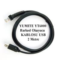 KABLO-YUMITE  YT6000 BARKOD OKUYUCU KABLOSU USB
