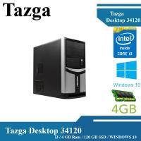 TAZGA DESKTOP 34120 I3-2100  / 4 GB RAM / 120 GB SSD / WINDOWS 10