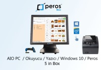 PEROS BOX OTOMASYON SİSTEMİ(PROGRAM,DOKUNMATIK PC,YAZICI VE OKUYUCU)