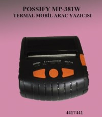 POSSIFY MP-381W  TERMAL MOBİL ARAC YAZICISI