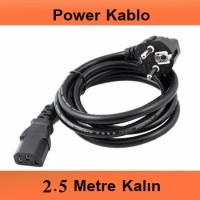 POWER KABLO 2.5 METRE (72-0460)