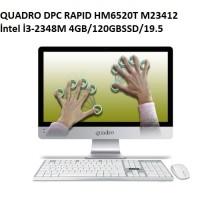 QUADRO DPC RAPID HM6522 I3 4GB/500GB/21.5