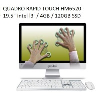 QUADRO RAPID TOUCH HM6520 T23412 İ3-2350M  4GB/120GB SSD/19.5''
