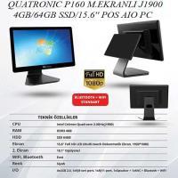 QUATRONIC P160 J1900/4GB/64GB SSD/15.6'' POS AIO PC M.EKRANLI