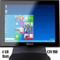 """QUATRONIC P700 POS PC 15"""" J1900 4 GB 120 SSD LED AIO METAL KASA"""