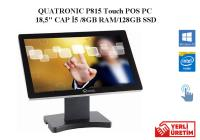 "QUATRONIC P815W POS PC 18,5"" CAP İ5 / 8GB RAM /128 GB SSD / WINDOWS 10 PRO"