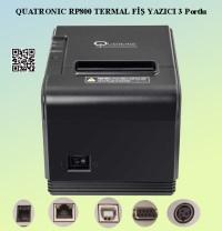 QUATRONIC RP800 TERMAL FİŞ YAZICI 3 PORTLU