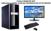 TAZGA DESKTOP AMD-3365 2.30GHZ /8 GB/320 GB/EKRAN/KLAVYE/MOUSE