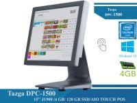 TAZGA DPC-1500 15'' J1900 /4 GB/ 120 GB SSD/AIO TOUCH POS