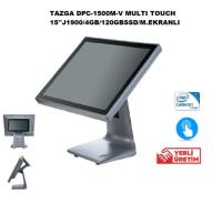 TAZGA DPC-1500M-V MULTI TOUCH 15''J1900/4GB/120GBSSD/M.EKRANLI