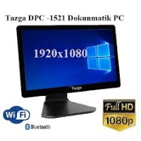 "TAZGA DPC-1521 15.6"" MULTI TOUCH J1900/4GB/64GB SSD/ WİNDOWS 10"