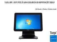 TAZGA DPC- 1515V I5 AIO/4 GB RAM/120 GB SSD/WIN10/ÇİFT EKRAN 15.6/DUAL