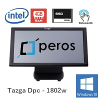 "Tazga SET - 1802w / İntel j1900/ 4 Gb/ 120 Gb Ssd/18.5""/Peros/Windows10"