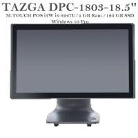 "TAZGA DPC-1803-18.5"" TOUCH POS  İ3W İ3-3227U/4GB/120GB/18.5""/WİN10"