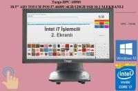 """TAZGA DPC-1850S 18.5"""" AIO TOUCH POS I7-4600U/4GB/120GB SSD 10.1 M.EKRANLI"""