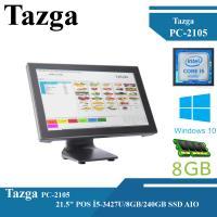 """TAZGA PC-2105 21.5"""" POS İ5-3427U/8GB/240GB SSD AIO"""