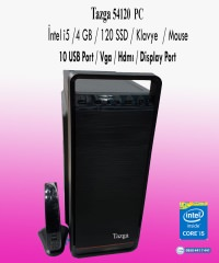 TAZGA PC [54120] İNTEL İ5 / 4 GB / 120 SSD / KLAVYE  / MOUSE