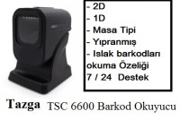TAZGA TSC 6600 MASA TİPİ 2D BARKOD OKUYUCU