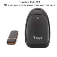 TAZGA TSC-852 2D KAREKOD USB KABLOSUZ BARKOD OKUYUCU