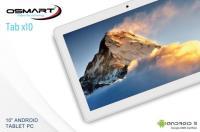 TABLET-OSMART INSPIRE TAB X10 10,1/ISP1280X800 2GB 32GB ADROİD10 BT+WİFİ