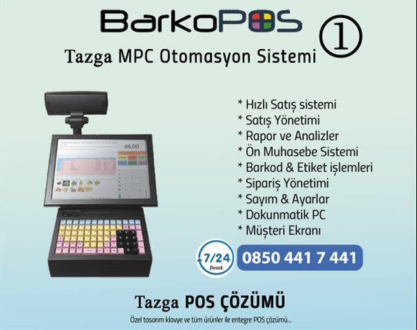 Tazga MPC01 Pos Sistem